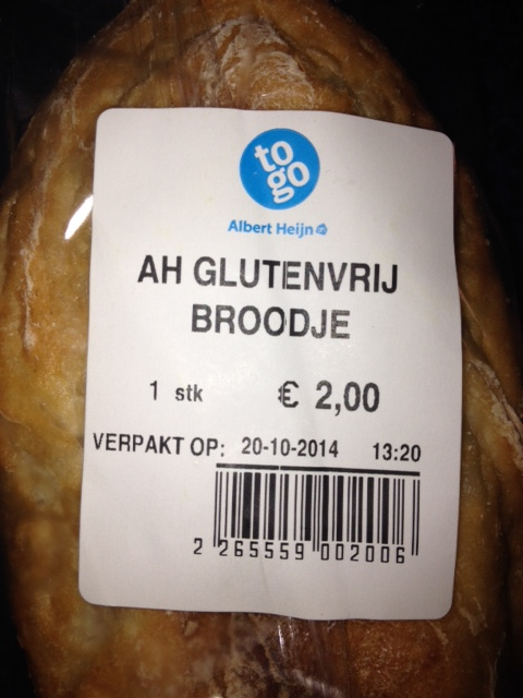 Glutenvrij broodje AH