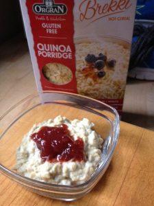 Quinoa pap van Organ met ja