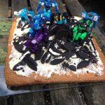 oreo taart met Transformers