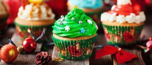 kerstcupcake glutenvrij